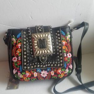 Montana west purse medium size new black
